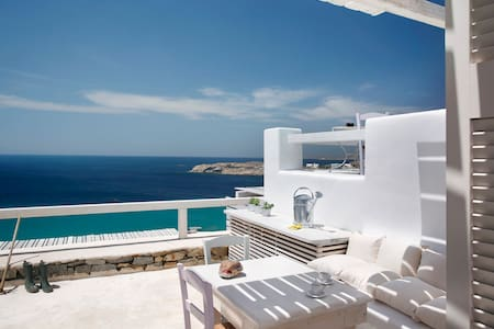 Executive Studio 2-Sea View & Pool - Mykonos