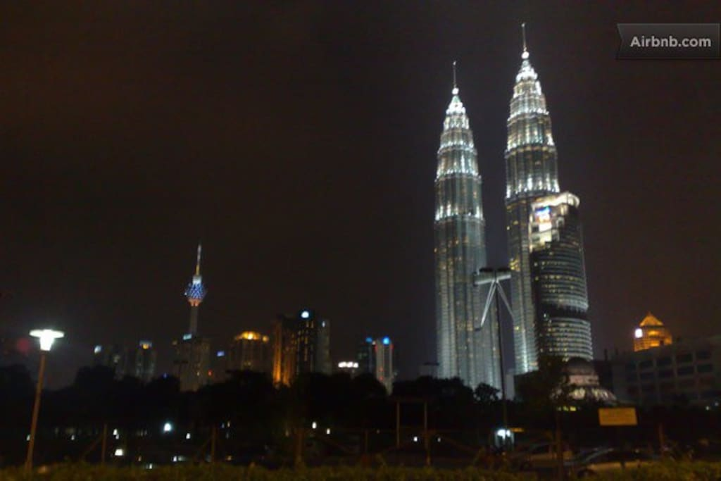 KLCC Twin Tower  ( 15 Minutes Away by Taxi )