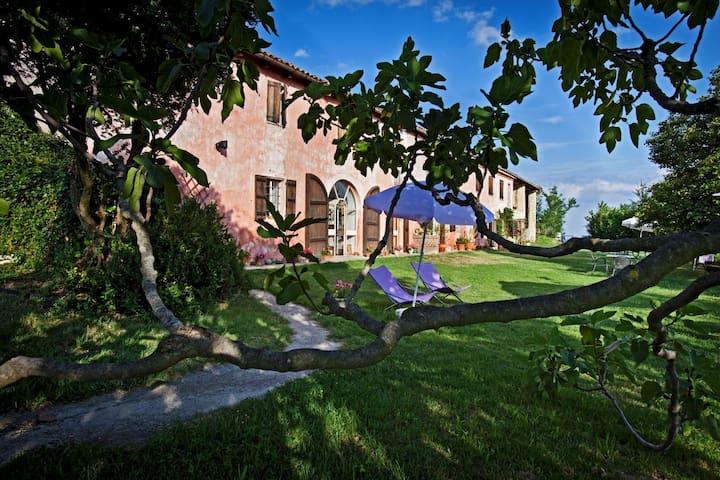 Cascinarosa b&b relax in Monferrato - Grazzano Badoglio - Apartamento