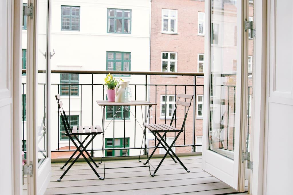 Couple 39 s getaway balcony walk everywhere wohnungen for Kopenhagen unterkunft