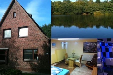 Lake House- Double Room - Itzehoe - Daire
