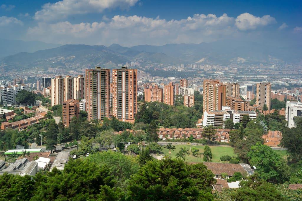 Amazing Views of Medellin
