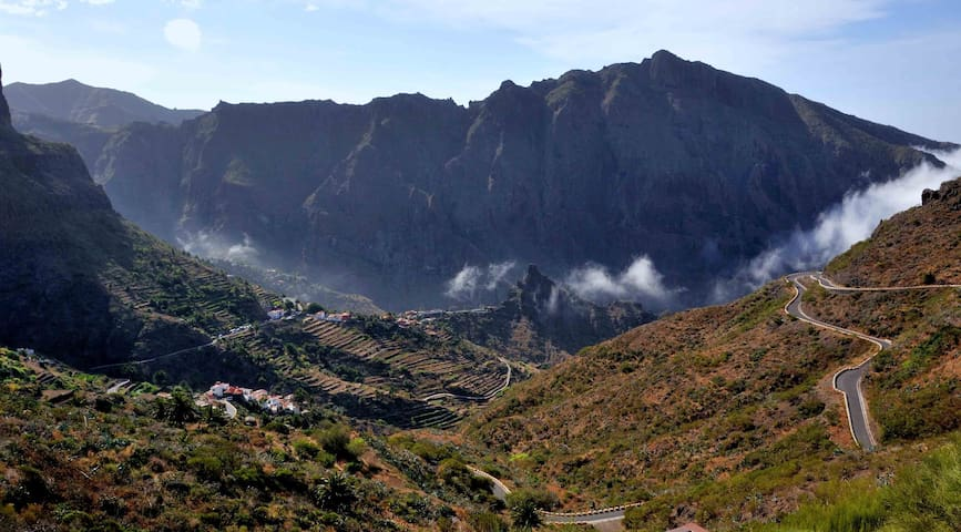 MASCA, A ROOM WITH A VIEW-TENERIFE - Buenavista del Norte - Casa