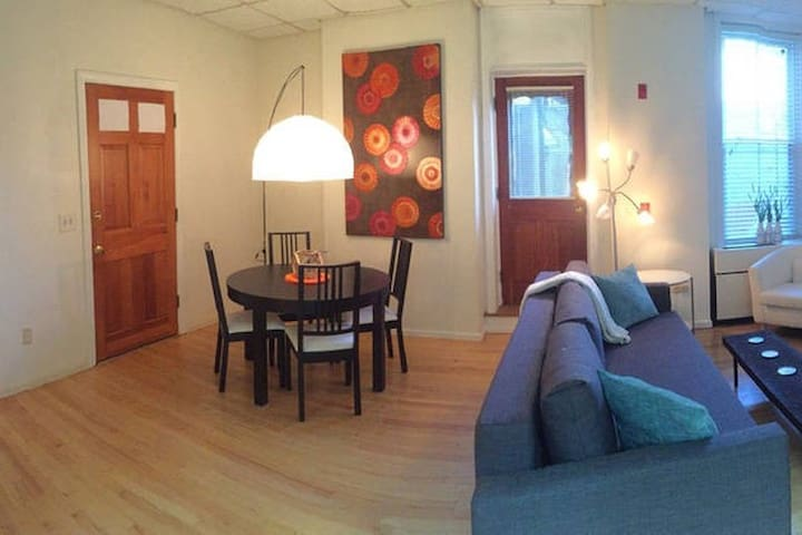 Long term 1 bdrm furnished rental on the Commons