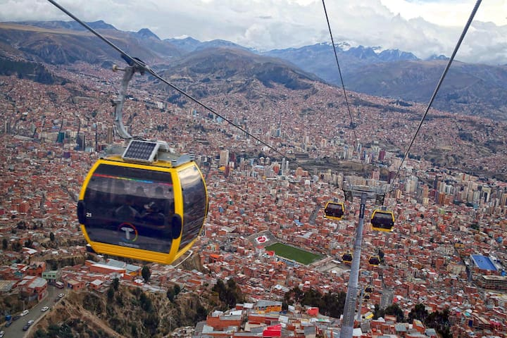 Cableway - Yellow Line