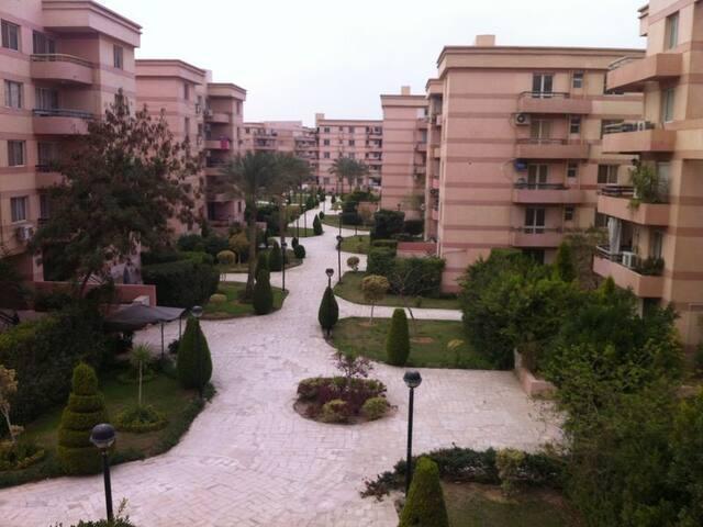 apartment for rent Al rehab city