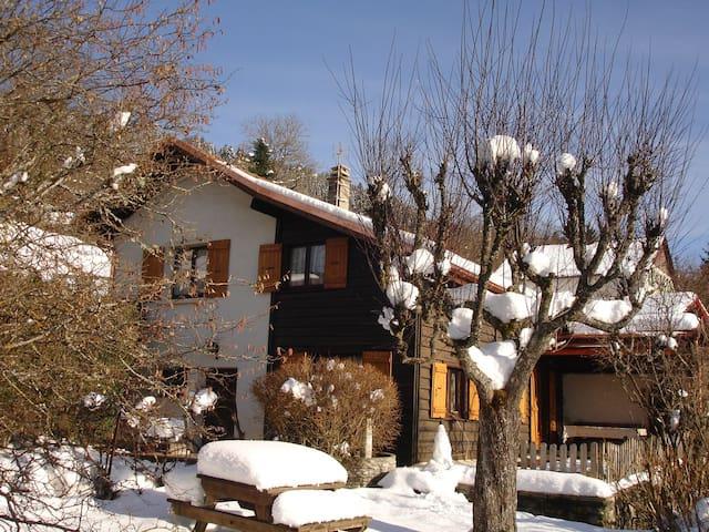 Profitez de la neige au moment où elle tombe après l'ensoleillement permet de ne pas avoir l'inconvénient pour circuler car elle fond vite.