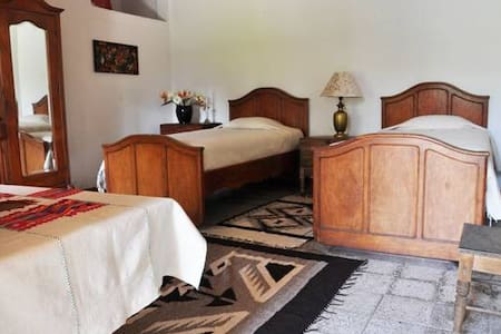 Large Room in a 18th Century Colonial Home - Antigua Guatemala - Bed & Breakfast