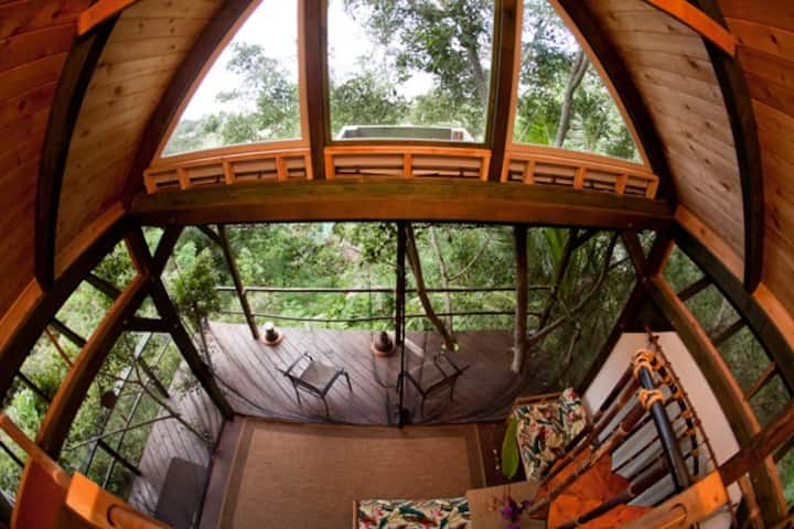 Sunset Beach Temple Treehouse  !!!
