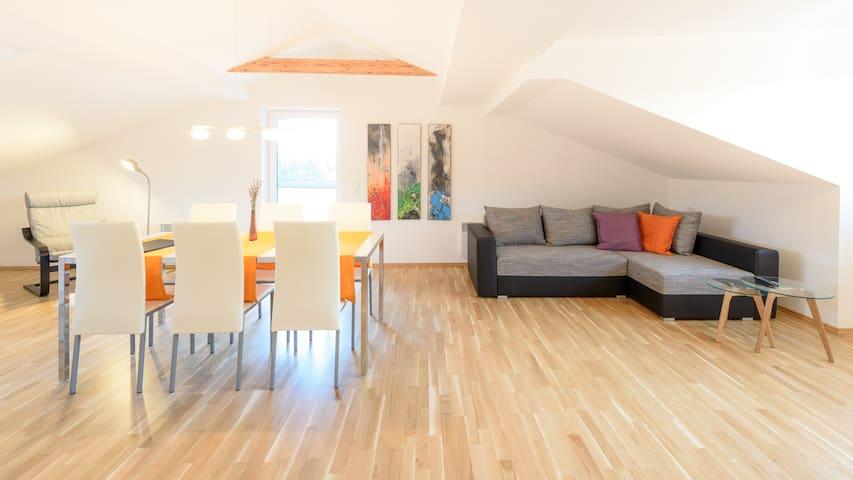 Stylische Wohnung mit 88m² am Klopeiner See - Unterburg am Klopeiner See - Apartmen
