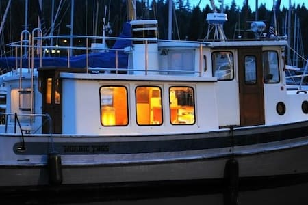 Classic Tug Boat - Seattle - Boot