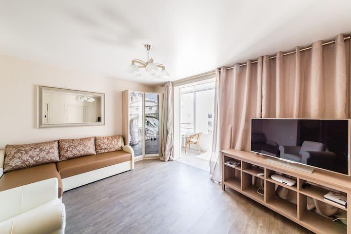 Красивая квартира в центре Спб - St. Petersburg - Leilighet