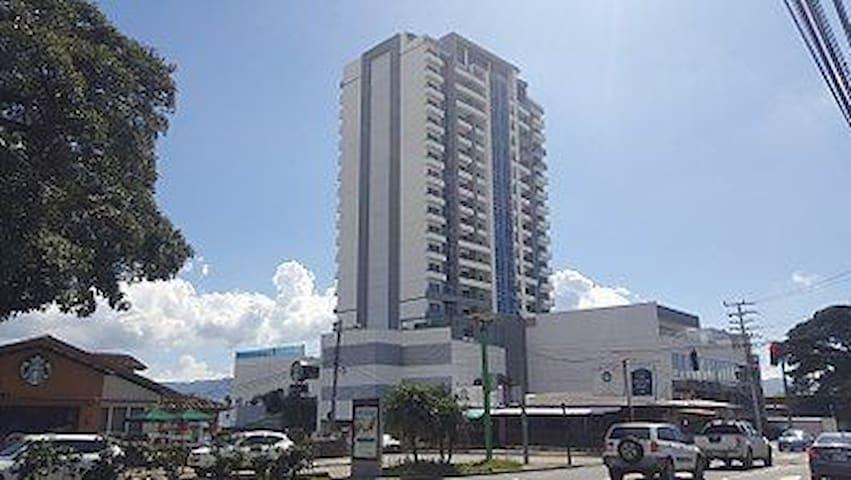 One BD in Luxury Flat 19th floor in Los Yoses.