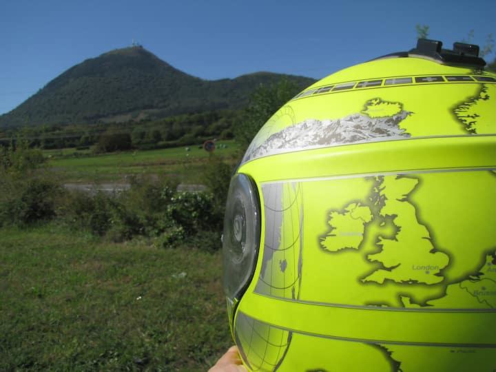Gite motards en Auvergne