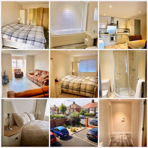 BUTTERFLY APARTMENT by CLEETHORPES LETTINGS