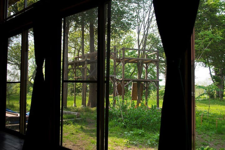 手作りツリーハウス