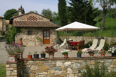 Apartamento romántico en Chianti