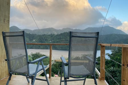 ☼Caonillas LakeView,Secluded Studio 2BR-1Bath;WIFI