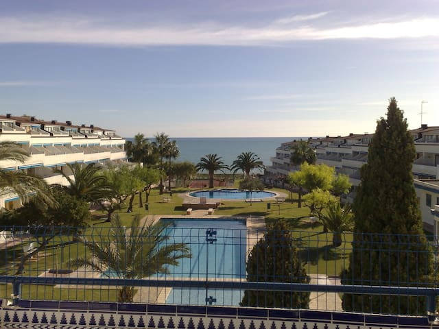 Duplex with magnificent views  - Alcalà de Xivert - Condomínio