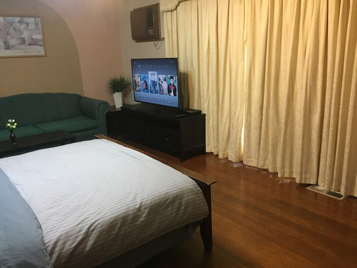 宽敞沙发办公大房(B5)Spacious and elegant room (sofa、desk)