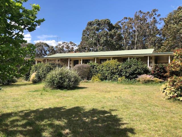 Saragosa Springs - 25 acres, stone house sleeps 10