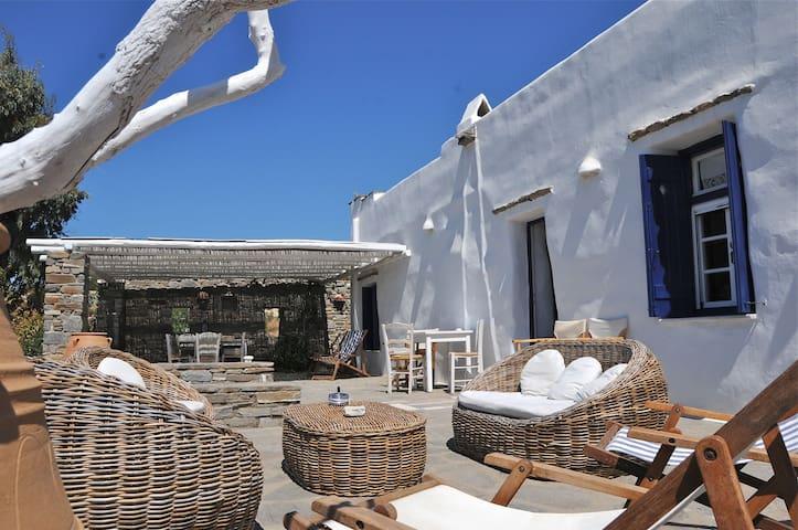Paros-Greece : Large cycladic house - Paros - Hus