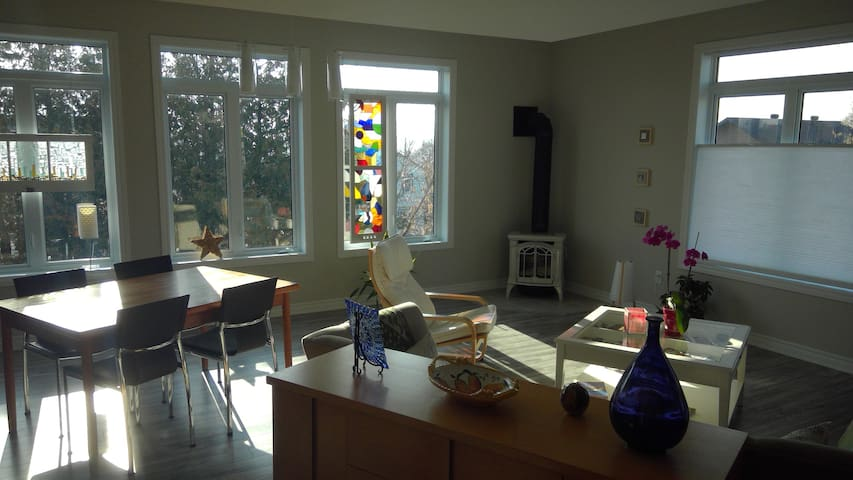 Bright and spacious - Gatineau - Apartemen