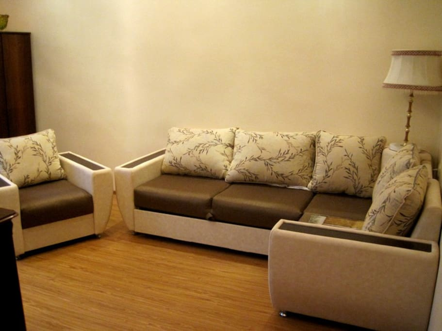 Transformer sofa and armchairs