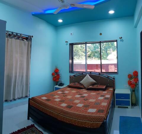 Parijat Resort Bedroom-2