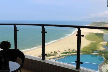 黄金海岸假日海景公寓,私人沙滩不过马路Beidaihe Seaview - Qinhuangdao