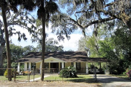 Waterfront home Built in 1905 Downtown& 1 mile BMC - Panama City - Ev