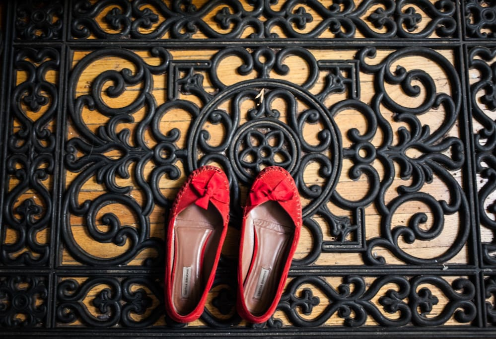 Leave your worries (and shoes) at the door!