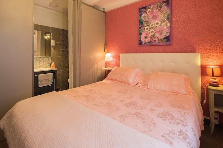 """Maison d'hôtes Villa Zaphira Chambre """"Perle Rose"""""""