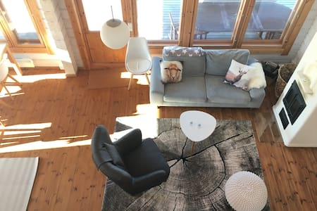 Beautiful cottage by the lake with sunset view - Mikkeli - 別墅