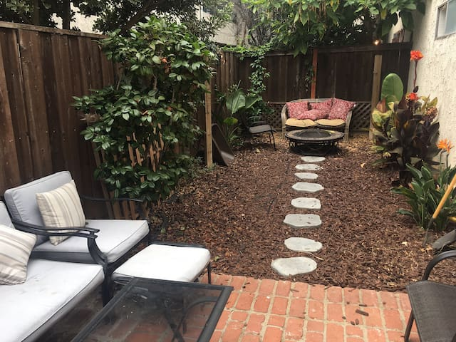 Westside Condo with Private Backyard