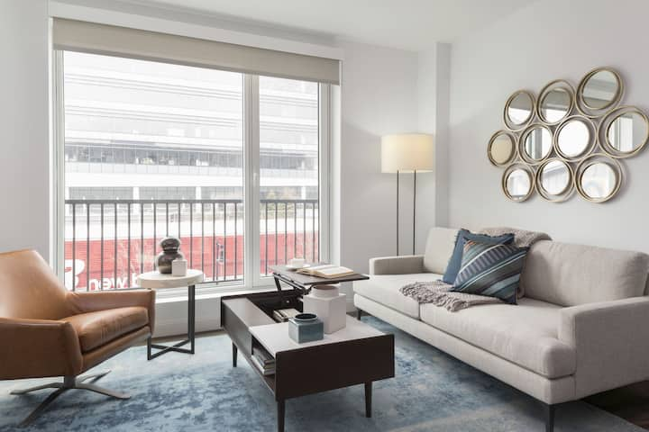 Well-equipped apartment home | 2BR in Boston