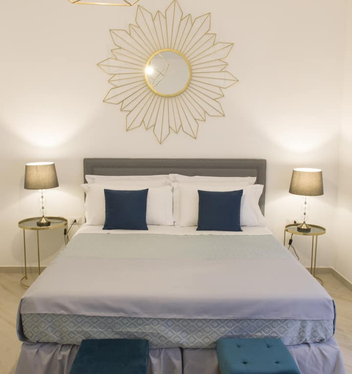 Glamour Suite in Sorrento at Palazzo Spasiano