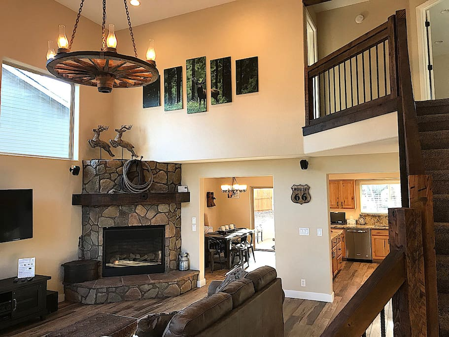 Family Room from entry way