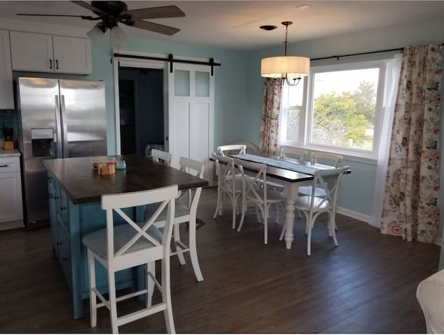 Newly Renovated Across from Beach access