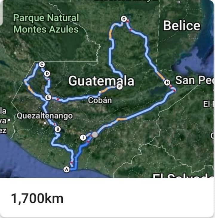 Gran circuito a Guatemala. (Hasta 10 personas)