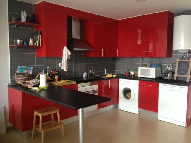 Cool and comfy room in a quiet hood!! - Madrid - Loft