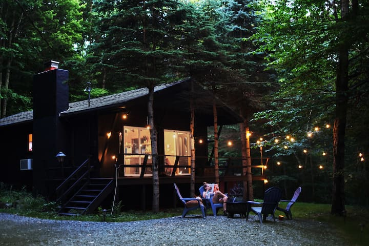 Catskills Cabin in The Woods