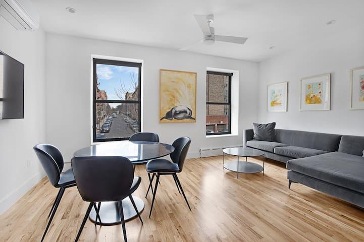 Spacious Modern 2bd Whole Flat @ Heart of Brooklyn
