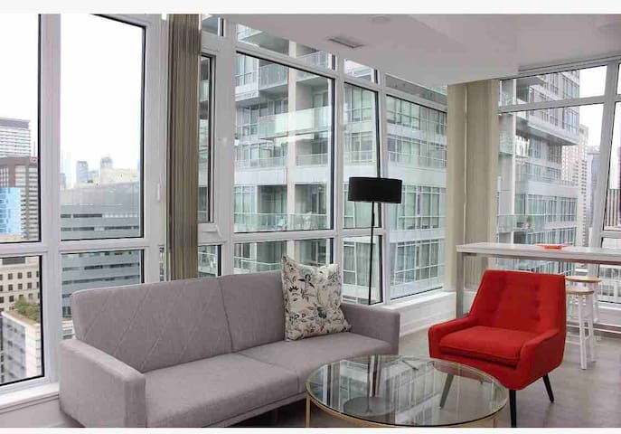 STUNNING DOWNTOWN CONDO      2bedroom 2bathrooms
