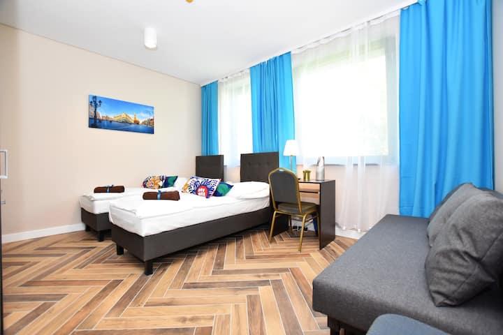 DUKES Apartments - przytulne studio przy RYNKU /FV