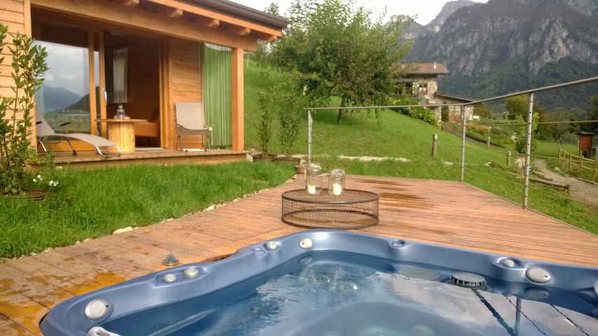 chalet dell agriturismo serec - Angolo Terme