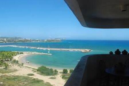 Beautiful Margarita over the sea - Porlamar - Byt
