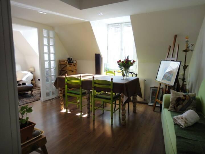 Cosy duplex in the heart of Dieppe