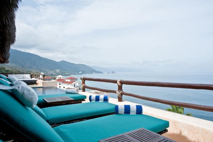 Oceanfront Villa in Puerto Vallarta