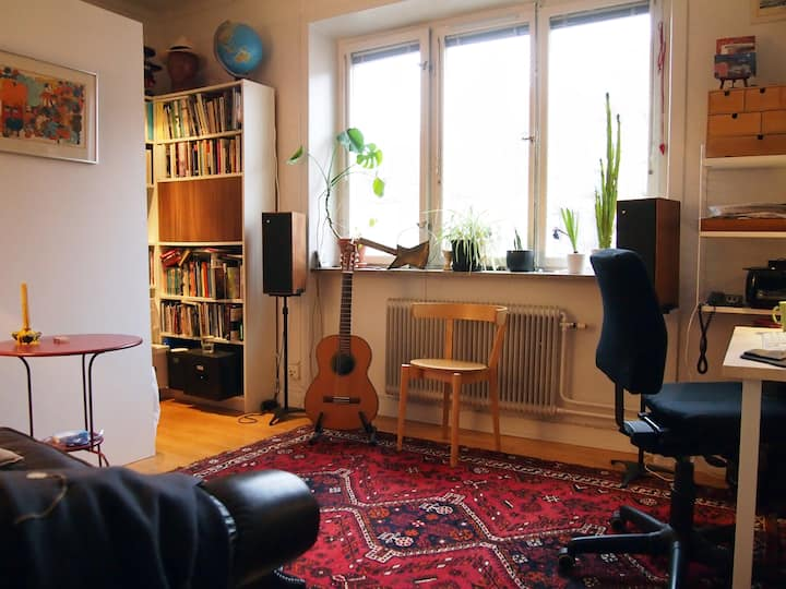 Cosy apartment in central Stockholm